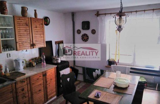 Dom na predaj vhodný na chalupu