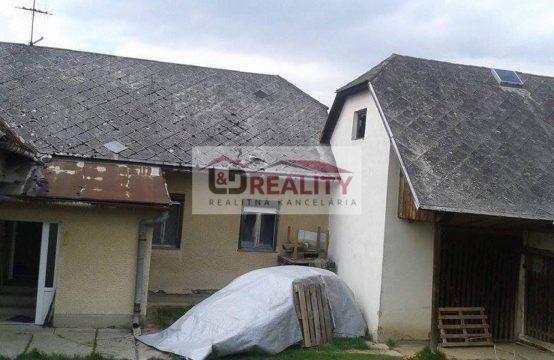Gazdovský dom na predaj v tichom prostredí