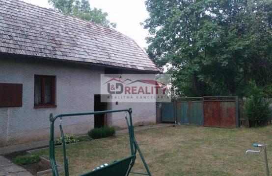 Na predaj starší dom – Dohoda možná
