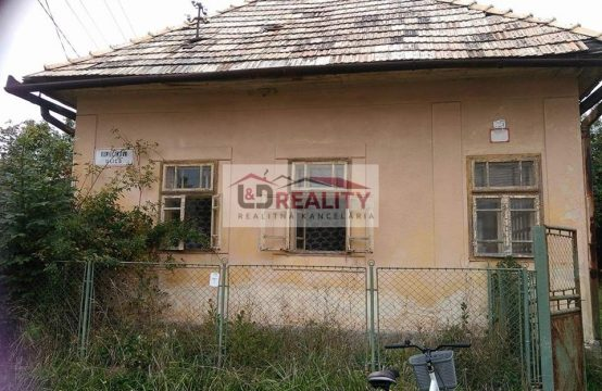 Starší dom na predaj