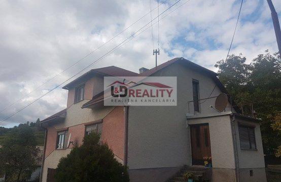 Rodinný dom na predaj