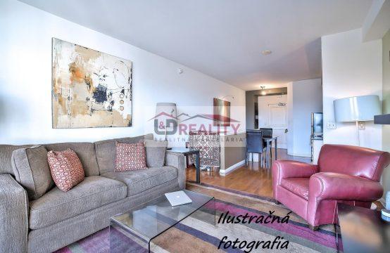 PREDANÉ- exkluzívne veľký 2-izbový byt v centre Detvy