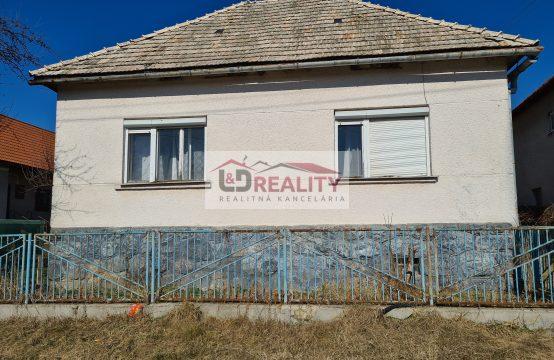 Na predaj rodinný dom v obci Dúbravy